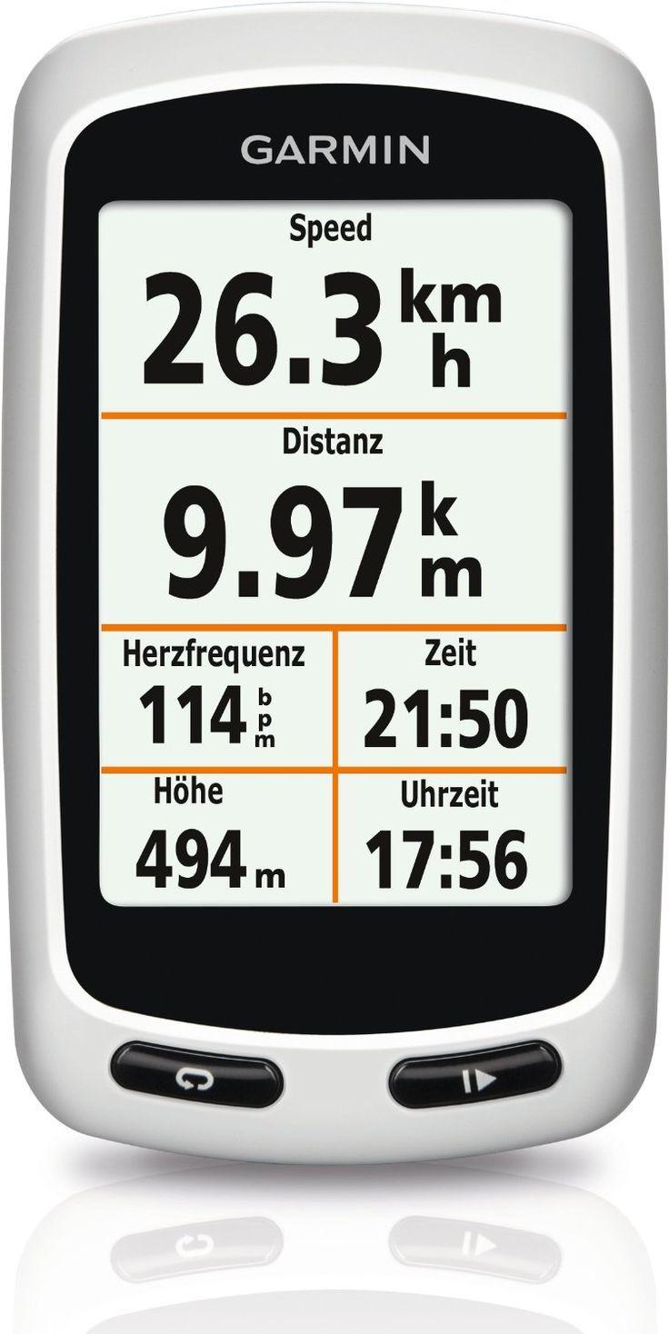 Garmin Edge Touring - Compteur GPS pour Vélo - Blanc: Amazon.fr: Sports et Loisirs