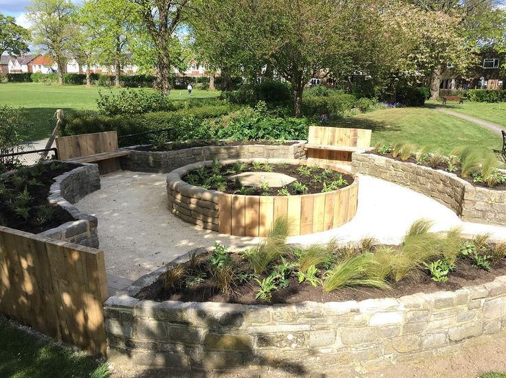 """82 Likes, 2 Comments - Andy Stedman Landscape design (@andy_stedman_garden_design) on Instagram: """"Planting completed today at our #chichester city council memorial garden.  #garden #landscapedesign…"""""""