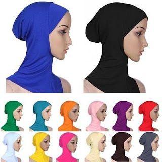 Buy This On eBay!: Fashion Cotton Muslim Inner Hijab Caps Islamic Und...