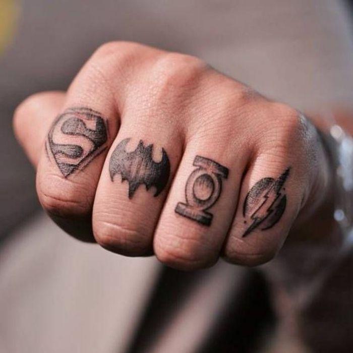 1001 Ideas Y Consejos De Tatuajes En Los Dedos Tatuajes En Los Dedos Tatuaje Spiderman Tatuajes Temporales