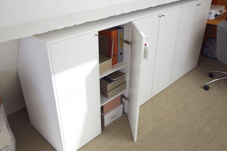 best 25 amenagement comble ideas on pinterest rangement. Black Bedroom Furniture Sets. Home Design Ideas