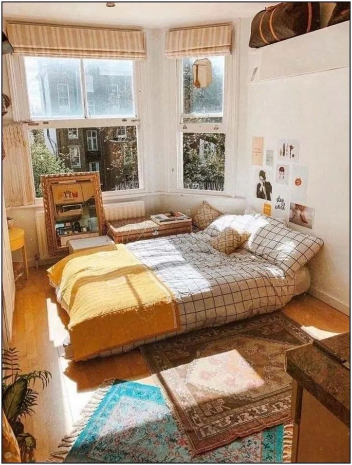 Photo of 124 fantastic college bedroom decor ideas and remodel 98