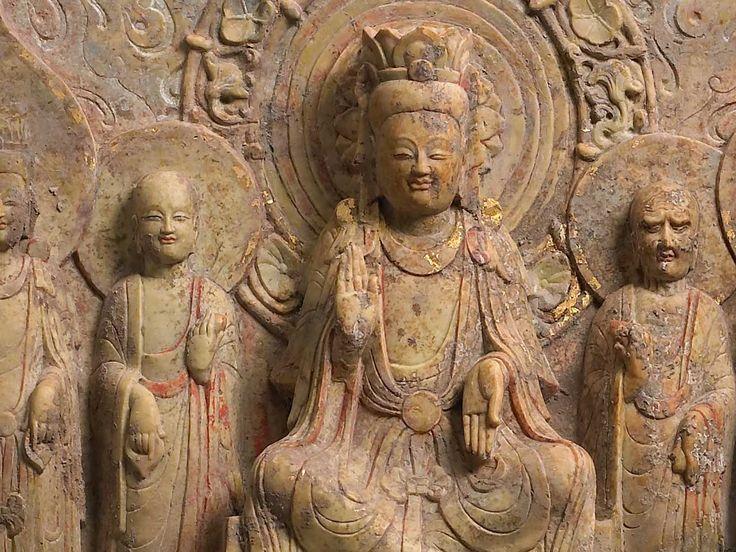 中台山博物館 | Chung Tai Museum | 石造交腳菩薩五尊像