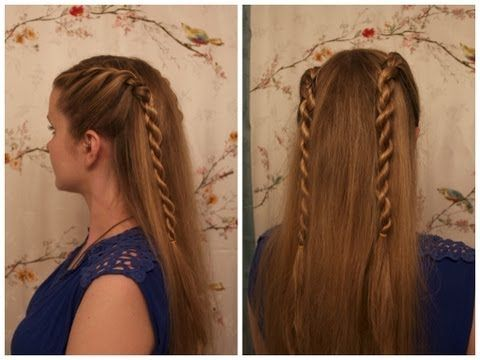 Game of Thrones Inspired Hair: Dany Targaryen's Season 4 Rope Braids.