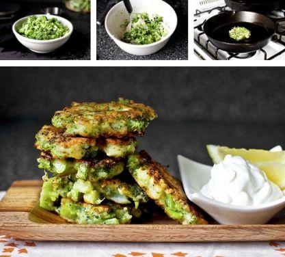 Brokolicové placičky - vynikající! - DIETA.CZ