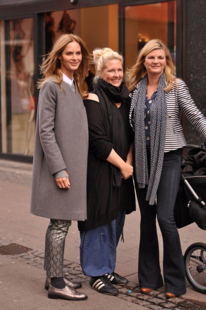 Trinny Woodall Susannah Constantine what not to wear denmark copenhagen street shots 2012 photos  2
