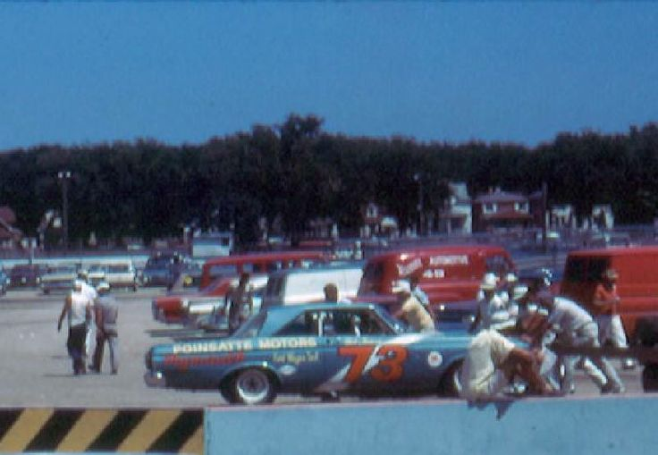 Milwaukee 1964:  Pit Area