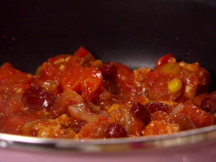 EZ as 1-2-3-Alarm Turkey Chili recipe from Hungry Girl via Food Network