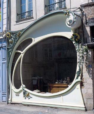 Art Nouveau - Façade 'Aux Tournesols' - 51 rue Bellegambe - Albert Pepe - Douai - 1904