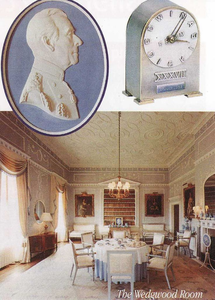 The Wedgewood Room at Broadlands Romsey Hampshire