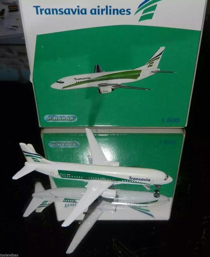 Schabak 1:600 Scale Diecast 965-189 Transavia Airlines Boeing 737-800