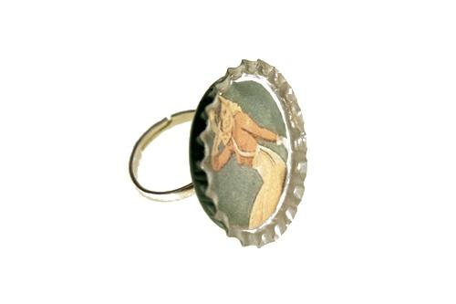 Bottle cap ring