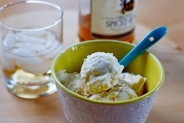 Peanut Butter & Dill Pickles: Grilled Pineapple & Rum Ice Cream--Day ...