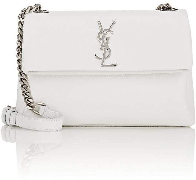 Saint Laurent Women s Monogram West Hollywood Leather Shoulder Bag ... 44c5d78705