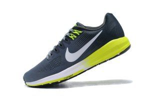11bc158f96bf8 Mens Nike Air Zoom Structure 21 Cool Grey Anthracite Volt White 904695 007  Running Shoes