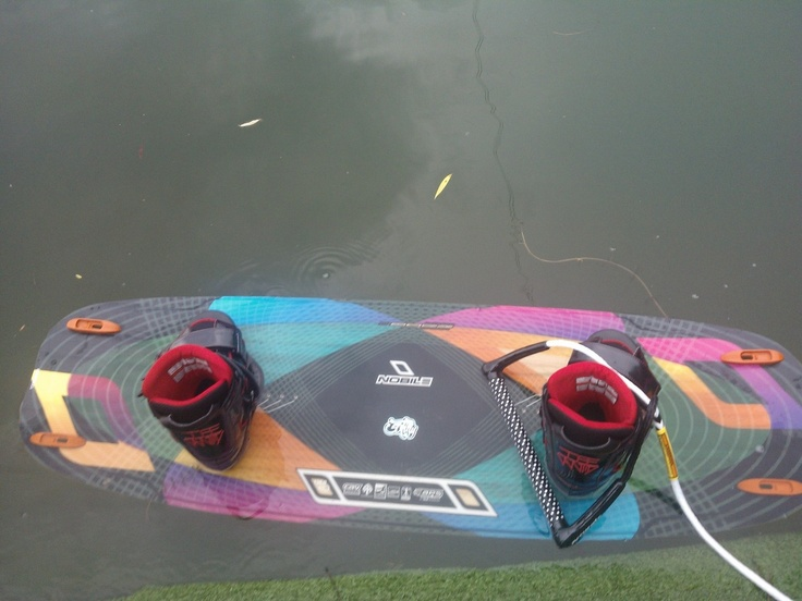 Ready to ride. Nobile wake 50/fifty
