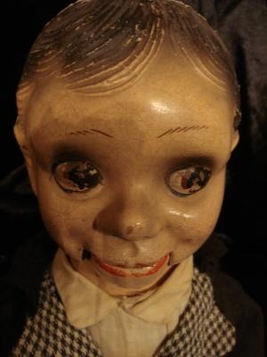 """Ventriloquist dolls are creepy little things. I saw one at a local thrift store nearby on 7th Ave. & Camelback. You can find this Danny O'Day one in good condition for under a 100 bucks. Not too bad for the creepy value it'll bring."""