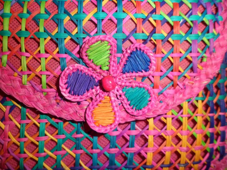 Tejidos artesanales Usiacuri Colombia fotos propias.
