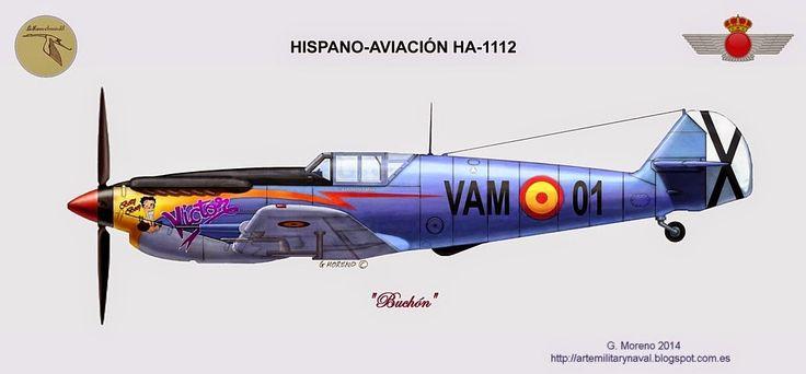 Avion HA 1112.                                                                                                                                                                                 Más