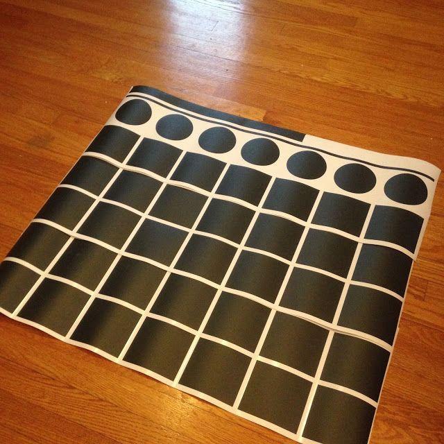 Giant (Chalkboard Vinyl) Wall Calendar: Free Silhouette Studio Cut File (and Best Chalk Marker!) ~ Silhouette School