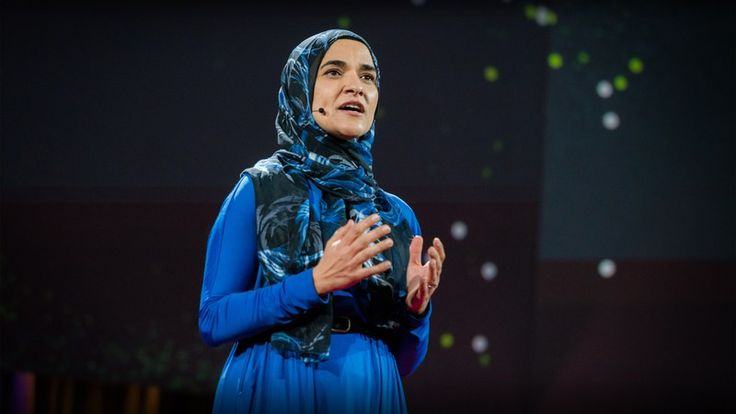 """❛Dalia Mogahed❜ TED2016: What do you think when you look at me? • """"When you look at Muslim scholar Dalia Mogahed, what do you see: a woman of faith? a scholar, a mom, a sister? or an oppressed, brainwashed, potential terrorist? In this personal, powerful talk, Mogahed asks us, in this polarizing time, to fight negative perceptions of her faith in the media — and to choose empathy over prejudice."""""""