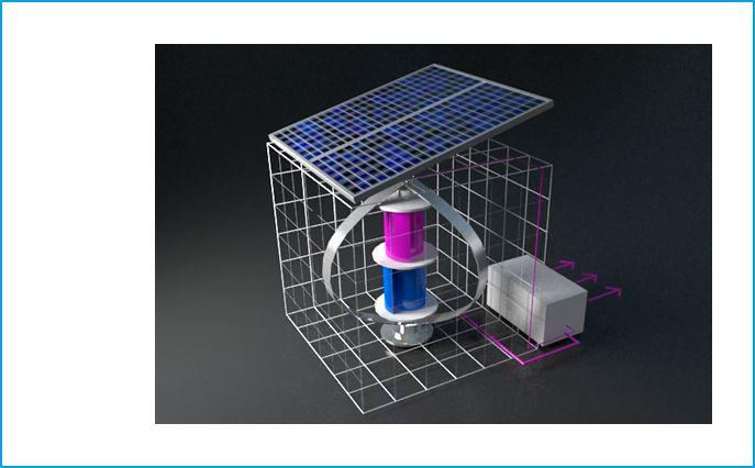 Системы BoroCube. Солнечные батареи. Ветро генератор. Typmar
