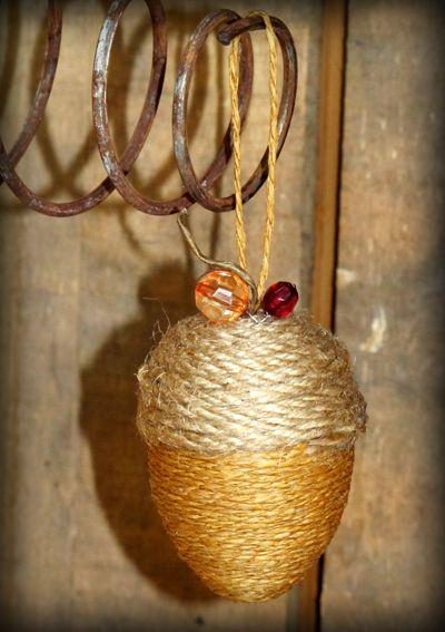 Fall Acorn Ornament