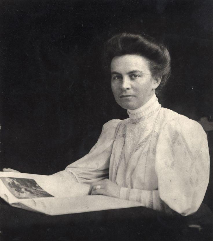 Helene Kroller-Muller / klik op de foto voor informatie over het echtpaar Kroller-Muller.