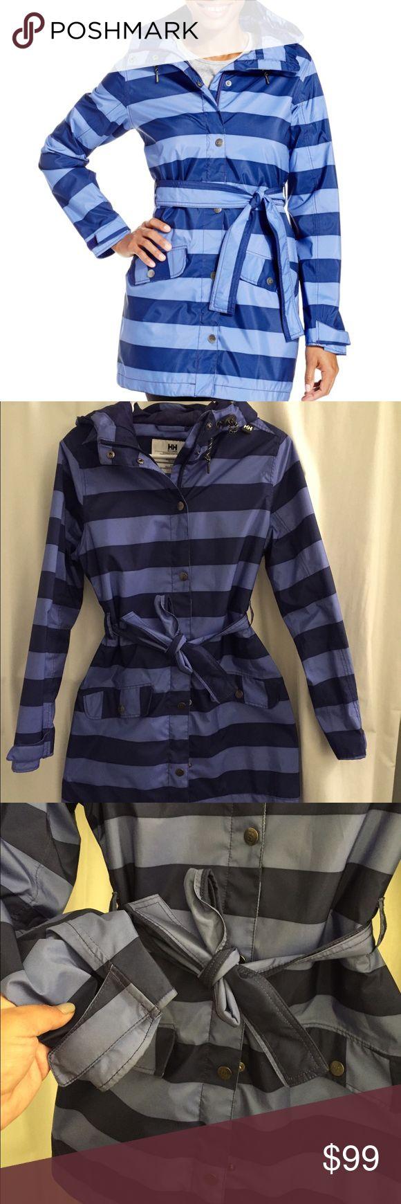 Helly Hansen rain jacket Helly Hansen rain coat. Good condition and purchased from Macy's Helly Hansen Jackets & Coats