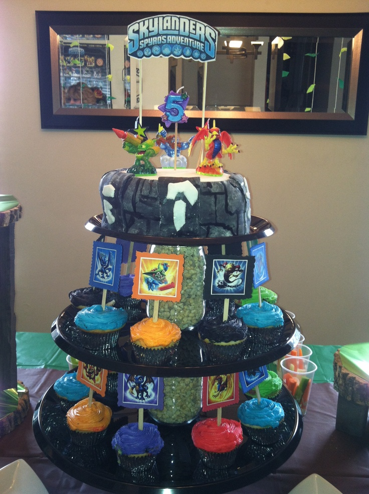 76 best cake decorating images on Pinterest Skylanders party Kid