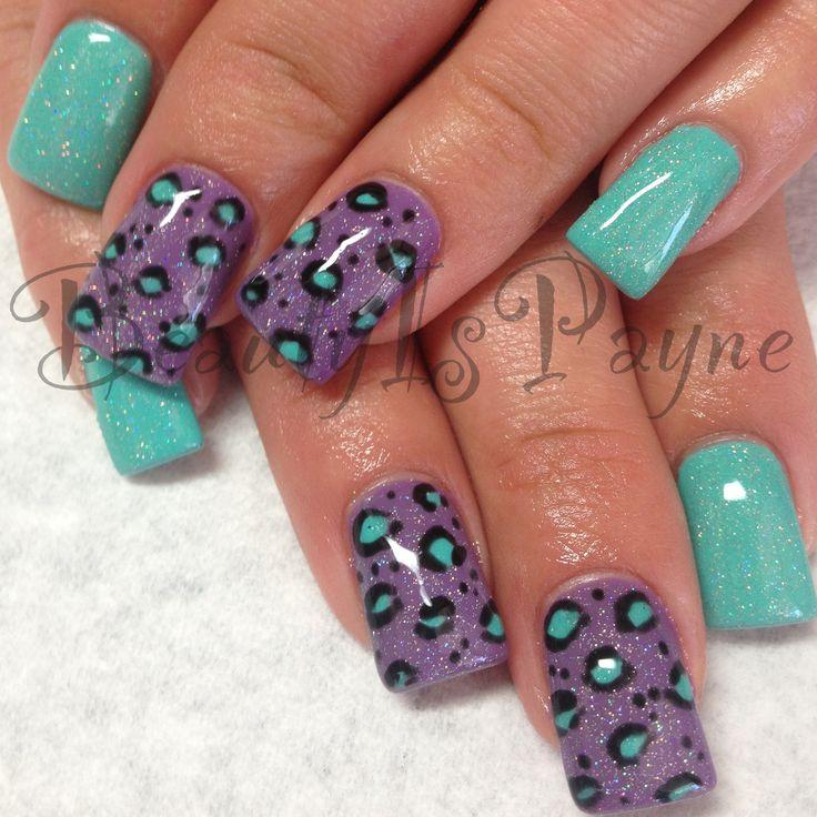 BeautyIsPayne animal print nails
