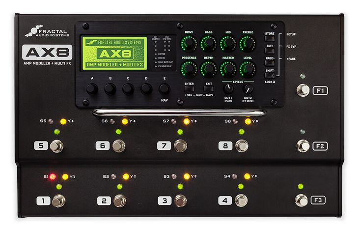 AX8 Amp Modeler + Multi-Effects Pedalboard