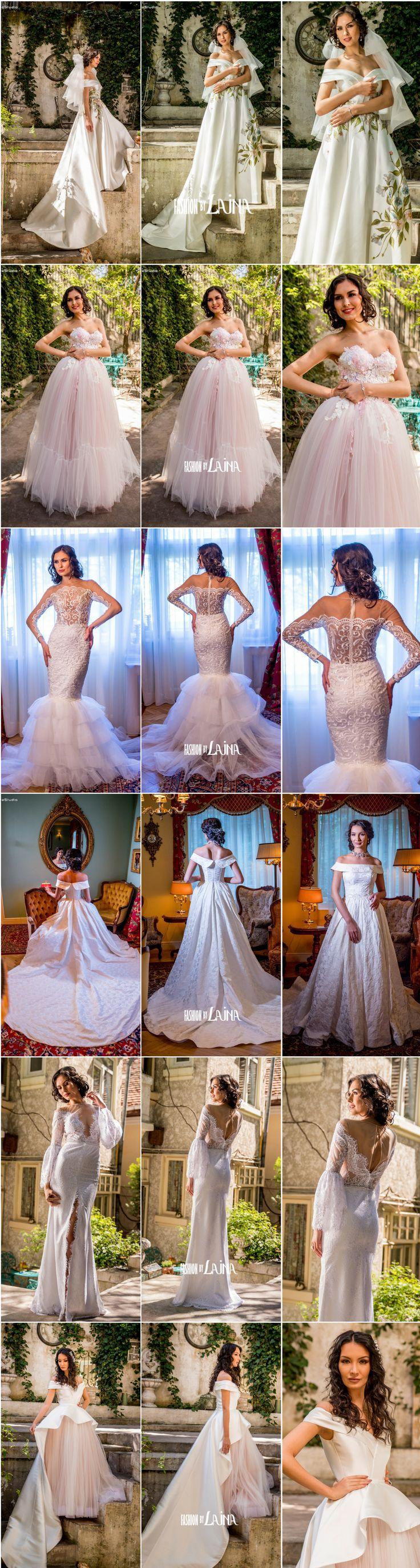 2018 Wedding Dresses by Fashion by Laina #fashionhouse #barcelonabridalweek
