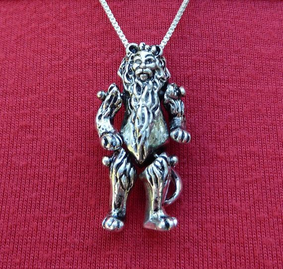 Sterling Silver Moveable Wizard of Oz by MorganFischerJewelry, $145.00