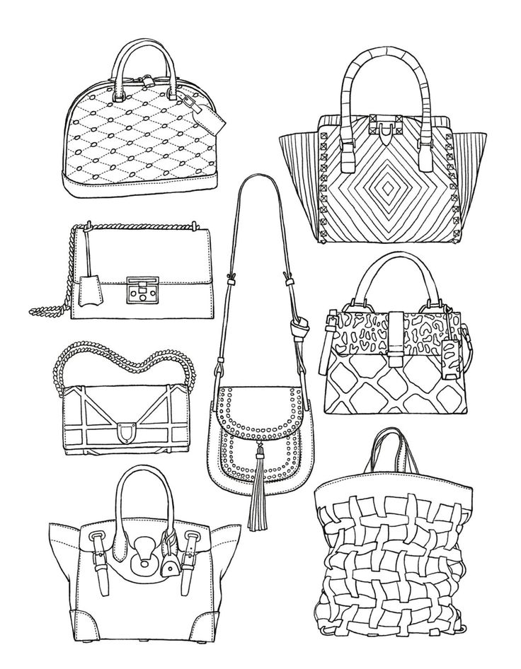 fashion designer coloring pages - photo#47