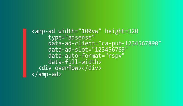 Cara Memasang Kode Iklan AMP Responsive Adsense Pada Blog AMP