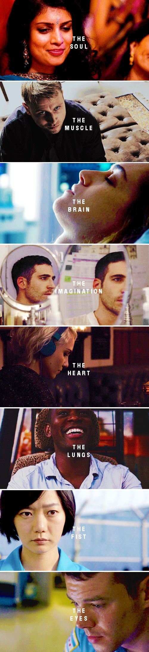 For we are O N E but we are M A N Y #sense8
