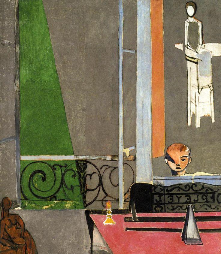 Henri Matisse. Piyano Dersi, 1916. Bu tablonun canvas baskısını edinmek için resme tıklayınız. #canvastar #canvas #tablo #tablolar #baskı #resim #ressamlar #dekorasyon #tuval