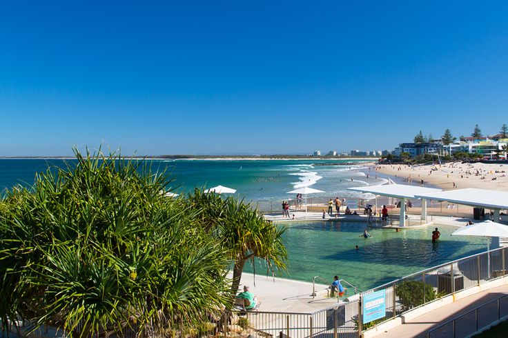 I hadn't visited Caloundra on the Sunshine Coast in a while, so I decided to go down and explore. Here is a photo from Kings Beach (Queensland, Australia)