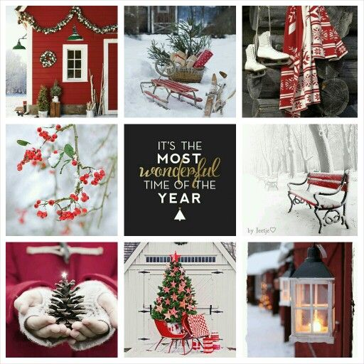 Merry Christmas to all my followers! #moodboard #mosaic #collage #byJeetje♡