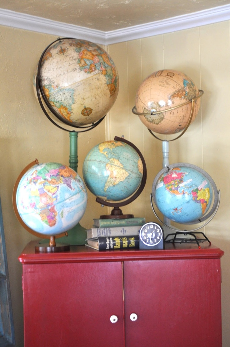 World Globes Map Decor never
