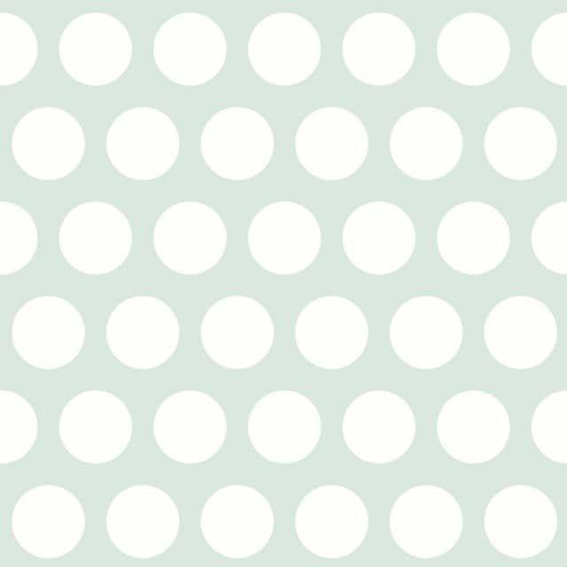Rasch Textil Everybody Bonjour Tapete grosse Punkte mint - kinder räume ag