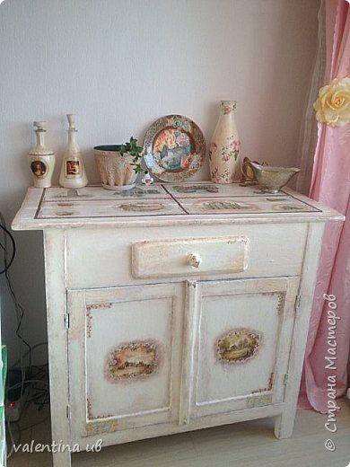 Декор предметов Декупаж реставрация мебели фото 1