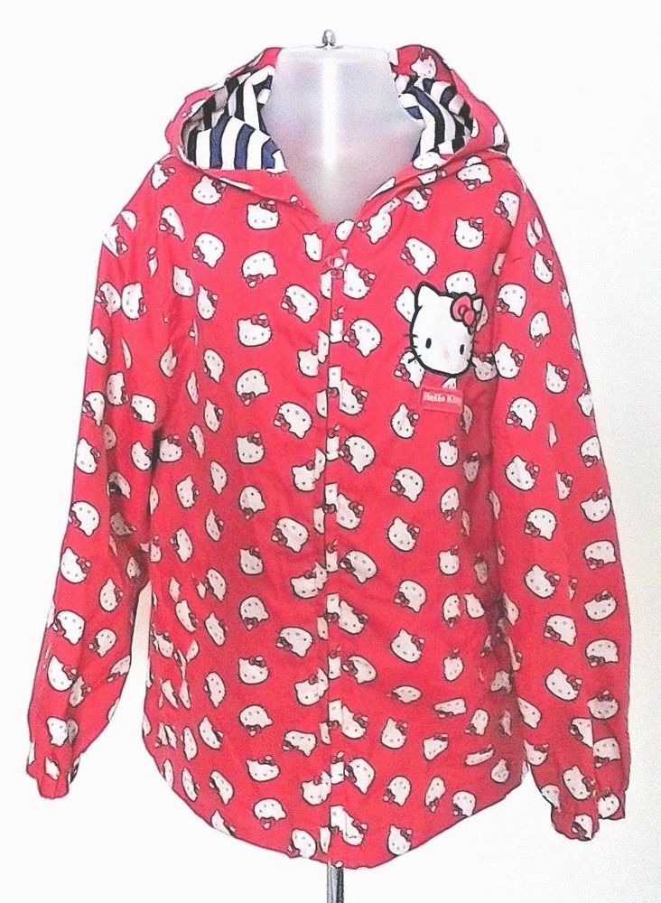 8e59f354b TU Girls Hello Kitty Fold Away Lightweight Raincoat 5-6 years  TU ...
