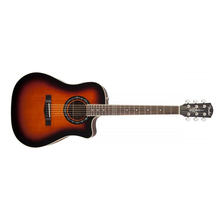 Fender T-Bucket 100CE Acoustic Electric Guitar in 3 Tone Sunburst