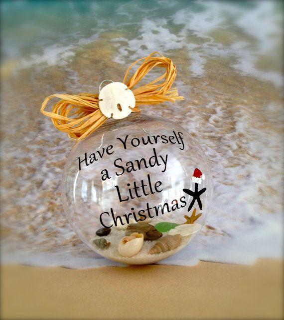 Nautical Christmas Ornament by SimplySeasonals on Etsy, $12.00