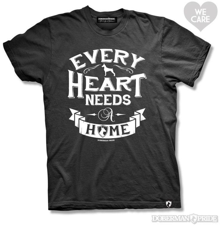 Every heart needs a home, and every home needs a Doberman. #adopt #doberman #rescue