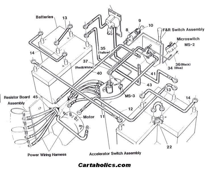 36 Volt Melex Wiring Diagram Battery Cartaholics Golf Cart Forum Gt Wiring Diagram Crafts