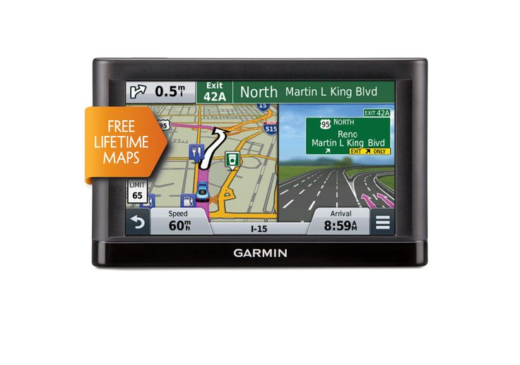 Garmin nüvi 65LM GPS Navigators System with Spoken Turn-By-Turn Directions, Preloaded Maps and Speed Limit Displays (Lower 49 U.S. States)