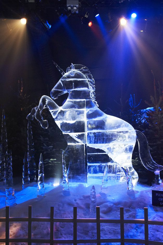 Hyde Park Winter Wonderland - Ice Kingdom from http://LondonTown.com
